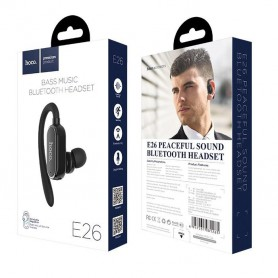 HOCO - E26 Peaceful sound Wireless headset earphone with microphone - Headsets and accessories - H100150 www.NedRo.us