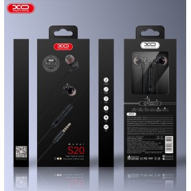 HOCO, HOCO XO-S-20 Design universal Earphone with microfon, Headsets and accessories, H61203, EtronixCenter.com