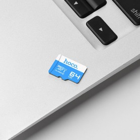 HOCO, Card de memorie TF de mare viteză micro-SD de 64GB, Adaptoare SIM, H0002, EtronixCenter.com