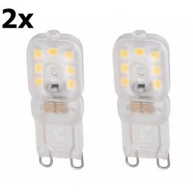 NedRo - Mini G9 6W Koud Wit Milky SMD2835 LED Lamp - Niet Dimbaar - G9 LED - AL901-CB www.NedRo.nl