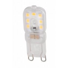 NedRo, 2x Mini G9 6W Bec cu LED-uri Alb Rece SMD2835 - Nereglabil, G9 LED, AL901-CB, EtronixCenter.com