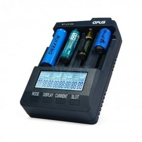 Opus, Opus BT-C3100 (versie 2.2) Intelligente Li-ion/NiCd/NiMH batterijlader, Batterijladers, BTC3100, EtronixCenter.com