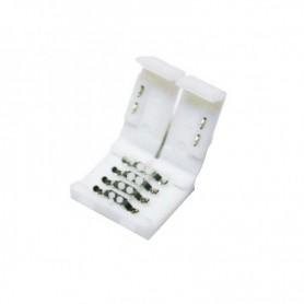 NedRo - (10 pcs) 10mm 4 Pin PCB Connector - LED connectors - LSC04 www.NedRo.us