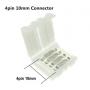 NedRo, (10 buc.) Conector PCB 10mm cu 4 Pin, Conectori LED, LSC04, EtronixCenter.com