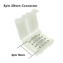 unbranded, (10 pcs) 10mm 4 Pin PCB Connector, LED connectors, LSC04