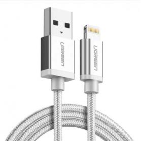 UGREEN - Lightning USB cablu de date si sincronizare de înaltă calitate US199 - iPhone cabluri de date  - UG416-CB www.NedRo.ro