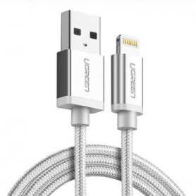 UGREEN, Ugreen US199 MFi Nylon Lightning Charging Data Cable, iPhone data cables , UG416-CB, EtronixCenter.com