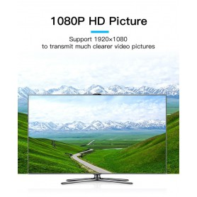 Vention - HDMI naar VGA-converter met met 3.5mm audio en USB voeding - HDMI adapters - V099-CB www.NedRo.nl