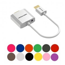 HDMI to VGA converter with 3.5mm audio cable