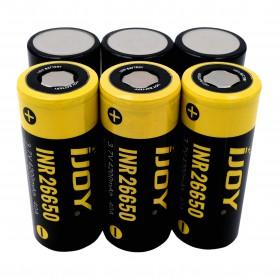 iJoy - iJoy INR26650 4200mAh - 40A Li-Ni oplaadbaar batterij - Andere formaten - NK411-CB www.NedRo.nl