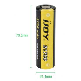 iJoy - iJoy 21700 3750mAh - 40A Li-Ni oplaadbaar batterij - Andere formaten - NK412-CB www.NedRo.nl