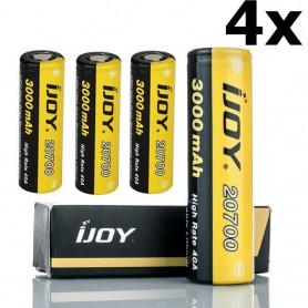 iJoy - iJoy 20700 3000mAh - 40A Li-Ni oplaadbaar batterij - Andere formaten - NK413-CB www.NedRo.nl