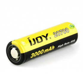 iJoy - iJoy 20700 3000mAh - 40A Li-Ni rechargeable battery - Other formats - NK413-CB www.NedRo.us