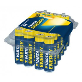 Varta, 24-Pack - AA R6 Varta Longlife Alkaline battery, Size AA, BS320-CB, EtronixCenter.com