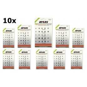arcas - Arcas Alkaline mixed set 4xAG1, 4xAG3, 4xAG4, 4xAG10, 4xAG13 - Knoopcellen - BS323-CB www.NedRo.nl