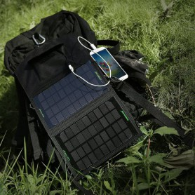 Poweradd, Poweradd 7W Solar Panel Charger, Powerbanks, NK417, EtronixCenter.com