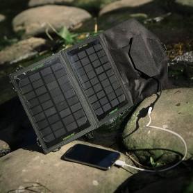Poweradd, Poweradd 7W Solar Batterijlader, Zonnepanelen en Windturbines, NK417, EtronixCenter.com