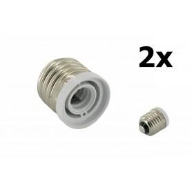 NedRo - E27 naar E12 Fitting Omvormer - Lamp Fittings - LCA17 www.NedRo.nl
