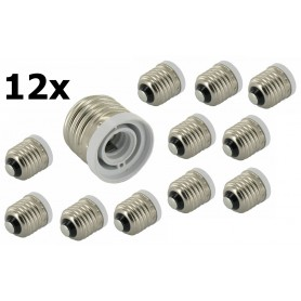 NedRo - E27 naar E12 Fitting Omvormer - Lamp Fittings - LCA17-CB www.NedRo.nl