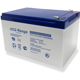 Ultracell - Ultracell Deep Cycle Gel UCG 12V 12000mAh Rechargeable Lead Acid Battery - Battery Lead-acid  - NK420 www.NedRo.us