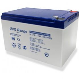 Ultracell - Ultracell Deep Cycle Gel UCG 12V 12000mAh Rechargeable Lead Acid Battery - Battery Lead-acid - NK420