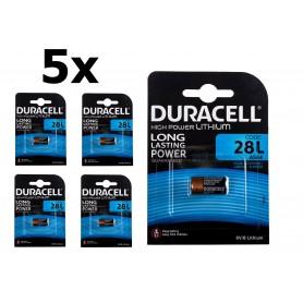 Duracell - Duracell 28L 6V Lithium batterij - Andere formaten - NK421-CB www.NedRo.nl