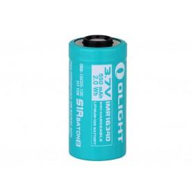 OLIGHT - Olight RCR123A Accu voor S1RII 550mAh 3.7V oplaadbare batterij - Andere formaten - NK422-CB www.NedRo.nl