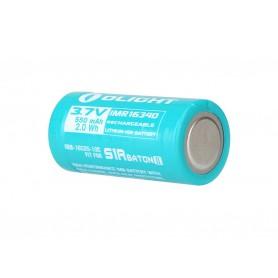 OLIGHT, Olight RCR123A Accu voor S1RII 550mAh 3.7V oplaadbare batterij, Andere formaten, NK422-CB, EtronixCenter.com