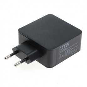 HOCO - Fast Charging USB DUAL (USB-C + USB-A ) with USB-PD - 30W - Ac charger - ON6252