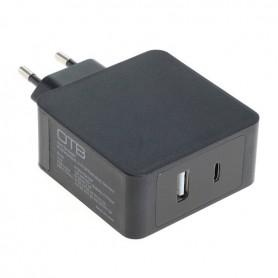 HOCO - Snelladen USB DUAL (USB-C + USB-A) met USB-PD - 30W - Thuislader - ON6252 www.NedRo.nl