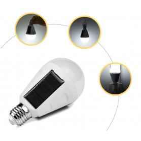 NedRo, E27 Fitting pentru becuri LED solare portabile, Corpuri de iluminat, AL1024-CB, EtronixCenter.com
