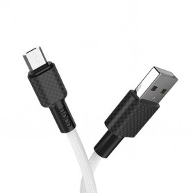 HOCO, HOCO X29 Carbon Cable USB to Micro-USB, USB to Micro USB cables, H100161-CB, EtronixCenter.com