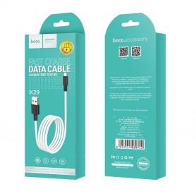 HOCO, HOCO X29 Carbon cablu de date USB la Micro-USB, Cabluri USB la Micro USB, H100161-CB, EtronixCenter.com