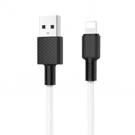 HOCO, HOCO USB Cable - Carbon X29 IPHONE Lightning, iPhone data cables , H100157-CB, EtronixCenter.com