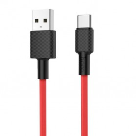 HOCO, HOCO USB to USB Type C X29 Carbon Cable, USB to USB C cables, H100163-CB