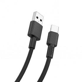 HOCO, HOCO Cablu de date USB la USB Tip-C X29 Carbon, Cabluri USB la USB C, H100163-CB, EtronixCenter.com