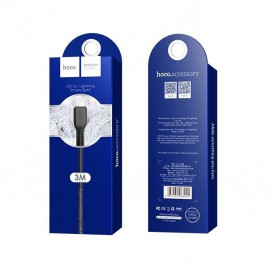 HOCO, HOCO Flash X20 USB naar IPHONE Lightning Kabel, iPhone datakabels, H70315-CB, EtronixCenter.com