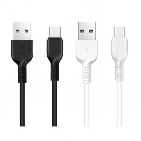 HOCO, HOCO Flash X20 USB Cable to USB Typ-C, USB to USB C cables, H70325-CB, EtronixCenter.com
