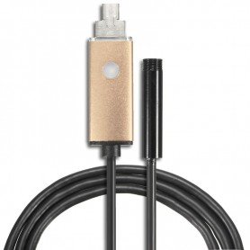 NedRo - 2 in 1 Endoscope 7mm Camera USB OTG voor Android - Loepen en Microscopen - AL1029-CB www.NedRo.nl
