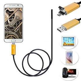 Oem - 2 in 1 Endoscope 7mm Camera USB OTG for Android - Magnifiers microscopes - AL1029-CB