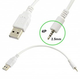 unbranded, 2.5mm Audio Jack 4 Pole to USB Cable, USB to Audio cables, AL500