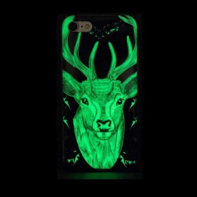 Oem, TPU case Glow in the dark for Apple iPhone X / XS, iPhone phone cases, H70016