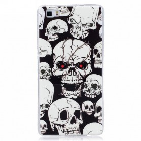 Oem, TPU case Glow in the dark for Apple iPhone X / XS, iPhone phone cases, H70019
