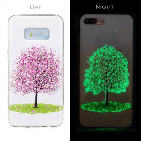 Oem, TPU case Glow in the dark for Apple iPhone X / XS, iPhone phone cases, H70018