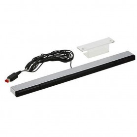 NedRo - Wired Remote Motion Sensor Bar for Nintendo Wii / Wii U - Nintendo Wii - AL1078 www.NedRo.us