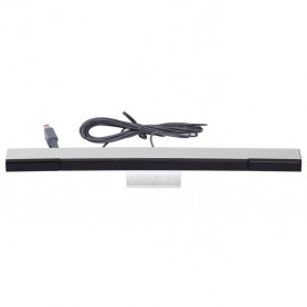 Wired Remote Motion Sensor Bar for Nintendo Wii / Wii U