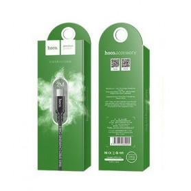 HOCO, Micro USB la USB 2.0 2A Cablu de date Hoco Premium, Cabluri USB la Micro USB, H002-CB, EtronixCenter.com
