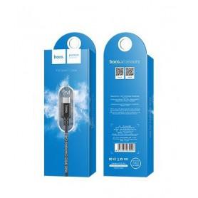 HOCO - Hoco Premium USB C Type-C naar USB 2.0 2A data kabel - USB naar USB C kabels - H60404-CB www.NedRo.nl