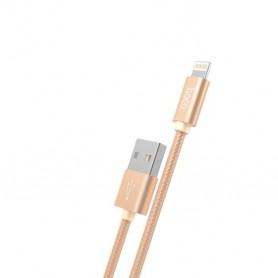 HOCO, Hoco X2 Lightning naar USB 2.0 Gevlochten kabel, iPhone datakabels, H100167-CB, EtronixCenter.com