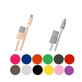 HOCO, HOCO Knitted X2 Cable USB to Micro-USB, USB to Micro USB cables, H100169-CB